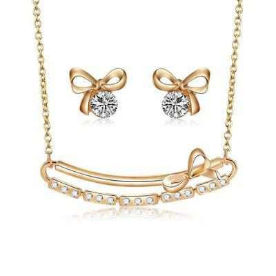 Necklace Earring Two-piece Set