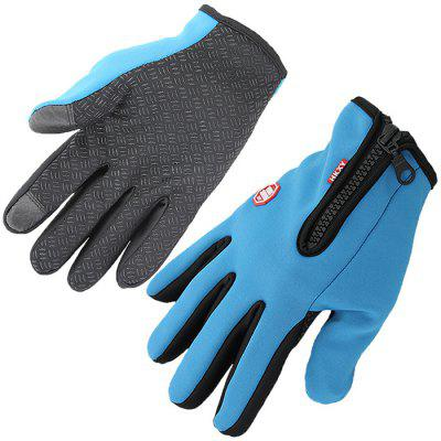 Sports Fleece Gloves Outdoor Warm Touch Screen Waterproof Windproof Non-slip Winter Ski Touch Control Screen