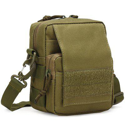 Outdoor Sports Shoulder Bag Small Bag Casual Men's Army Camouflage Pockets Hiking Travel Messenger Bag
