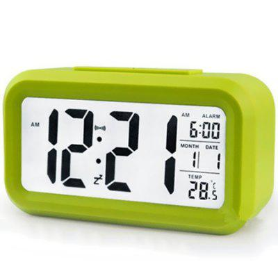Smart Clock Light Control Induction Clock LED Large Screen Electronic Alarm Clock Luminous Clock Silent Clock
