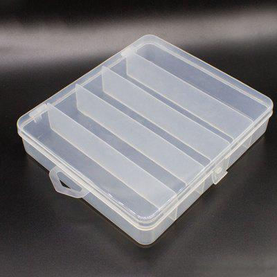 Ten Grid 5 Grid Double Road Sub-bait Set Box Luya Tool Box Fishing Gear Box Bait Accessories Storage