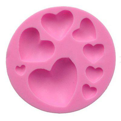 Silicone Mould Fondant Cake Love Chocolate Mold Baking Tools