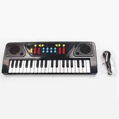 Dziecięca Enlightenment Music Keyboard 37 Type Door Level Microphone Piano Baby Puzzle Musical Toys