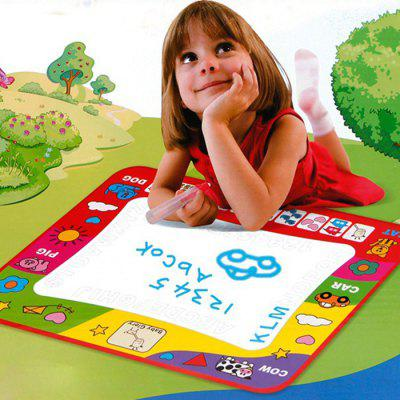 Doodle Children's Drawing Toys Mat Magic Pen Zabawki edukacyjne 1 Mat2 Water