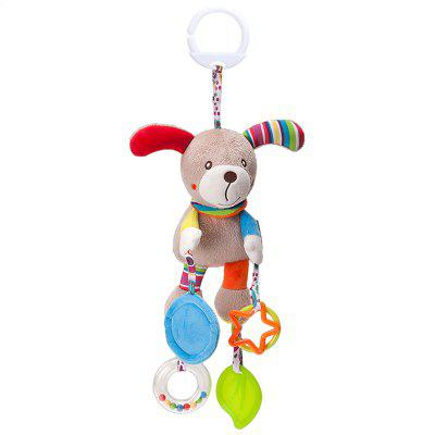 Infant And Child Comfort Toy Plush Pendant Baby Cute Cartoon Animal Wind Chime Baby Carriage Hanging