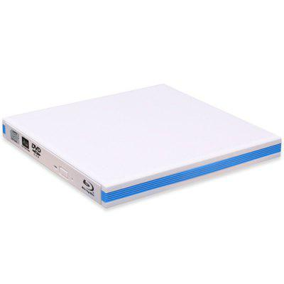 USB3.0 External Blu-ray Recorder Mobile DVD Drive Supports 4K