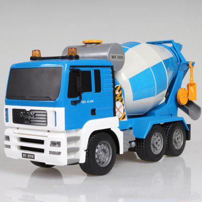 Remote Control Engineering Vehicle Toy Mixing Cement Truck Concrete Tank Car Rechargeable Children's Gift Model Car