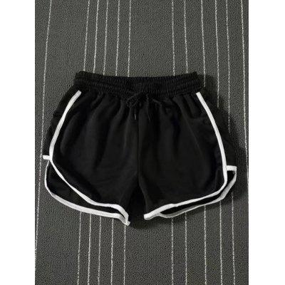 Damen Gym Sport Jogging Shorts aus Baumwolle