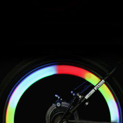 Mountain Bike Light Bicycle Colorful Hot Wheels Silicone Light Spokes Light Wire Light