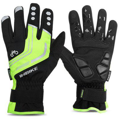 Winter Riding Warm Gloves Windproof Touch Screen Gloves Reflective Outdoor Ski Motorcycle Gloves