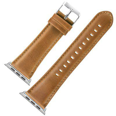 Strap Leather Leather Strap Black Buckle 1/2/3/4 Generation Universal Strap for iWatch