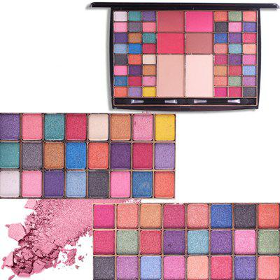 Eyeshadow Palette Red Powder Makeup Box Makeup Box