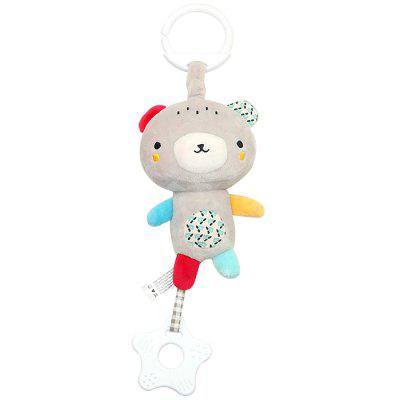 Baby Toys Multi-function Toothpaste Pendant Plush Movement Sound Music Toy Baby Carriage Hanging Children Bed Hanging
