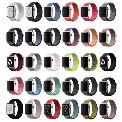 Applicable Strap Loopback Nylon Strap For iWatch Nylon Braided Loopback Sports Strap Watchband