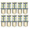 Automotive LED S25 1156 13smd 5050 Backup Lights Steering Lights Achterlichten - 12V 1156 WIT