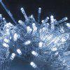LED Lights Flashing Lights Decorative Lights String Male And Female Connected Outdoor Waterproof Christmas Lights Starry Lights - 10 METERS 100 LIGHTS MALE AND FEMALE CONNECTION - WARM WHITE