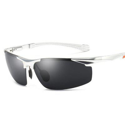 8585 Aluminum-magnesium Polarized Sunglasses Driving Driving Glasses Hipster Outdoor Riding Sports Goggles