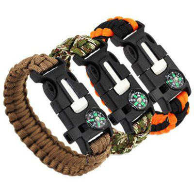 Pulseira Paracord Survival Survival Corda Umbrella