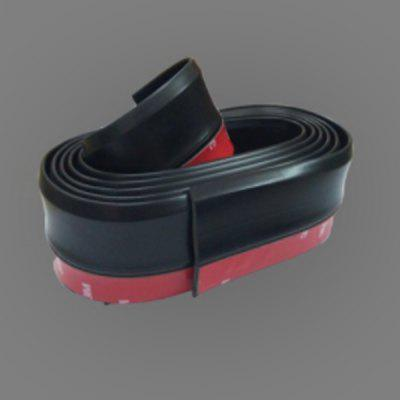 Car Rubber Skirt Front Lip Side Skirt Front Shovel Scratch Strip Surrounded By Anti-collision Soft Strip