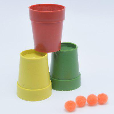 Magic Toy Sanxianguidong Fairy Picking Beans Three Cups Magic Ball Creative Whole Magic Props Gift Toys