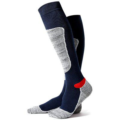 Hiking Trekking Long Tube Thick Towel Ski Socks