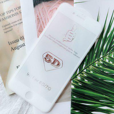 5D Tempered Film Full Screen Cover 8Plus Protection Film 6sp Glass Explosion-proof Film