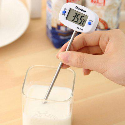 Food Thermometer Milk Thermometer Needle Water Thermometer Electronic Liquid Thermometer Probe