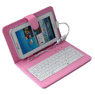 Computer Keyboard Leather Case Cover for 7 Inch 7.85 Inch 8 Inch 9 Inch 9.7 Inch 10 Inch Tablet