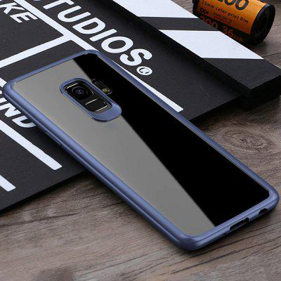 Mobile Phone Shell New Two In One Transparent Tpu + Pc Protective Cover Anti-fall Mobile Phone Protective Cover for Samsung