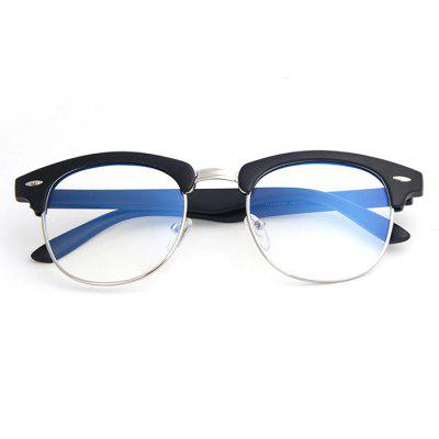 Retro Semi-metal Mobile Computer Goggles New Bird Finished Anti-blue Glasses Can Be Equipped With Myopia
