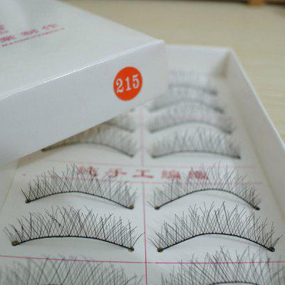 Handmade False Eyelashes Cotton Wire Stem 20PCS