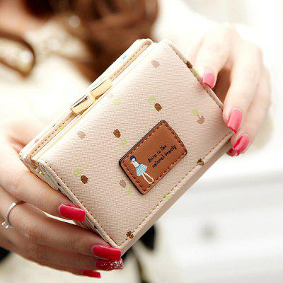 Women Flower Candy Cute Wallet