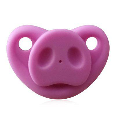 All Silicone Pacifier Pig Nose Pacifier Pig Nose Nipple Pig Nose Pacifier