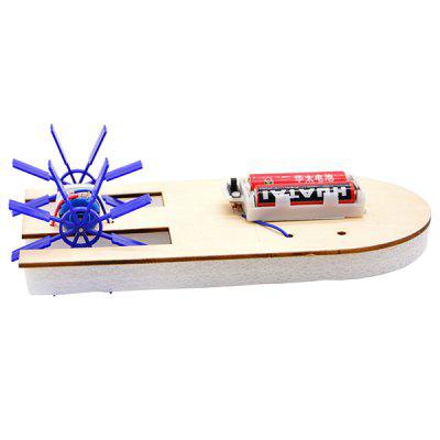 DIY Scull Electric Boat Speed Boat Primary and Secondary School Puzzle Technology Small Production Ship Model Science Experiment