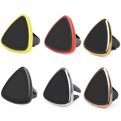 Simple Magnet Bracket Triangle Car Air Conditioning Air Outlet Magnetic Car Outlet Phone