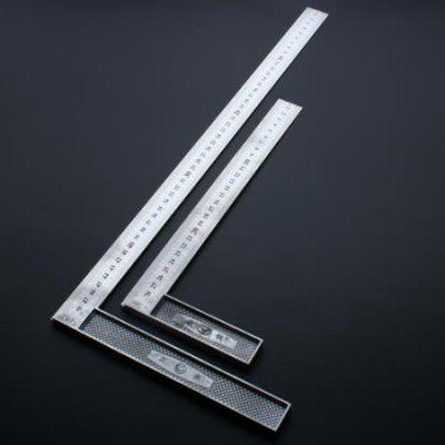 Steel Square Woodworking Measuring Tool Stainless Steel Square Ruler