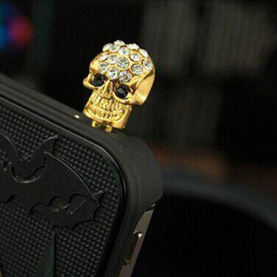 Personality Diamond-studded Universal Dustproof Plug Universal Explosion Mobile Phone Headset Dust Plug Accessories