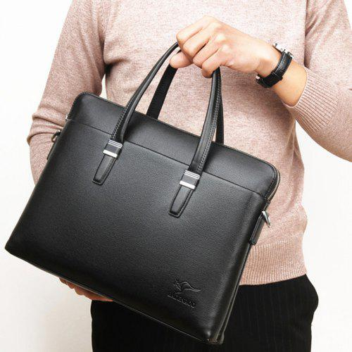 Single Shoulder Bag Fashion Briefcase Mens Handbag Leisure Fitness Business Travel Bag Vacation Unisex Canvas Travel Bag Multifunctional Cross Section