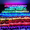LED Lantern String LED Lighting Starry Lantern String Christmas Light Decoration Light 10 Meter 100 Light With Tail Insert - BLUE