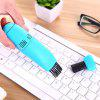 Mini Small Computer Keyboard Dust Cleaning Desktop Cleaning Notebook Mobile Phone Mini Powerful USB Vacuum Cleaner - GREEN