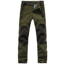 f26fa6af6d8 Outdoor Gore-Tex Pants Ski Pants Windproof Mountaineering Waterproof Fleece Pants  Thicken Warm Soft Shell