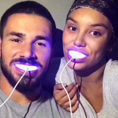 Beauty Tooth Care Oral Care Cold Light Teeth Whitening Instrument LED Tooth Cleaning Teether