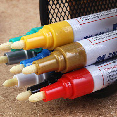 Creative Paint Pen Multi-function Tire Pen Album DIY Graffiti Pen White Mark Touch Up Pen