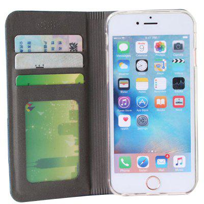 Card Phone Case Mobile Phone Holster Anti-theft Brush Holster for iPhone6 Plus / 6S Plus / 7 Plus