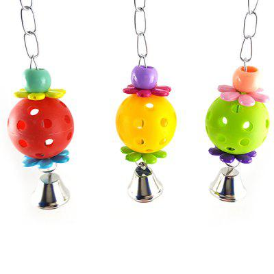 Small and Medium Parrot Toy Egg Bell Ball Hanging Parrot Toy Ball 18g