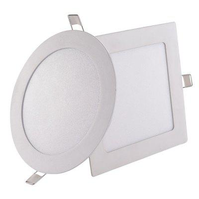 LED Panel Light Concealed Ultra-thin Square Round Panel Light