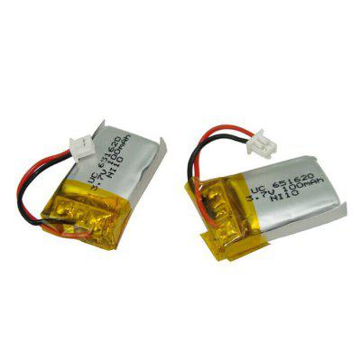 3.7V 100mAH Lithium Battery Remote Control Aircraft Small Four-axis Aircraft Accessories