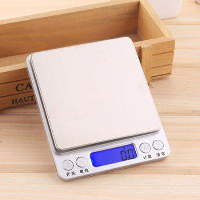 I2000 High-precision Kitchen Scale Jewelry Scale Pocket Scale Multi-function Baking Food Electronic Scale