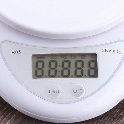 B05 Household Mini Kitchen Simple Health Baking Electronic Scale