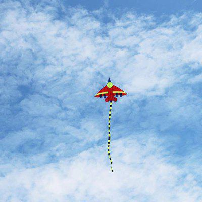 Flying Long Tail Aircraft Kite Fighter Kite Children Kite